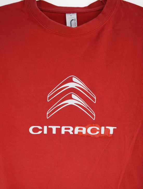 T-Shirt Citracit (M) Rouge